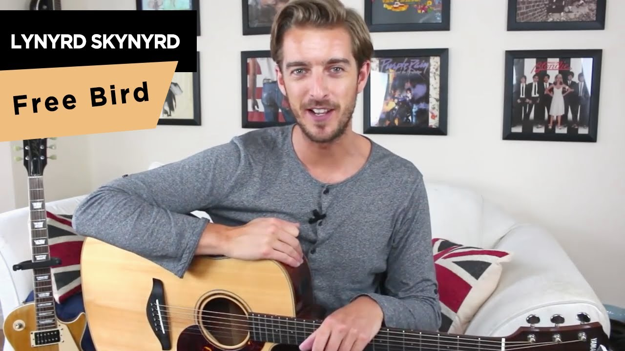 free bird chords guitar lesson tutorial lynyrd skynyrd how to play youtube. Black Bedroom Furniture Sets. Home Design Ideas
