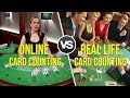 Online Casinos vs Real Life Casinos for Card Counting in Blackjack (Which is Best?)