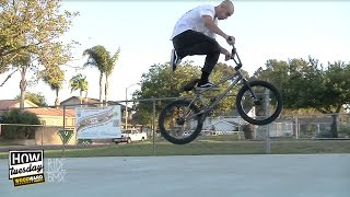 BMX: how-to - 180 Crankflips w/ Ethan Corriere