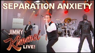 Faith No More performs 'Separation Anxiety' on Jimmy Kimmel Live!