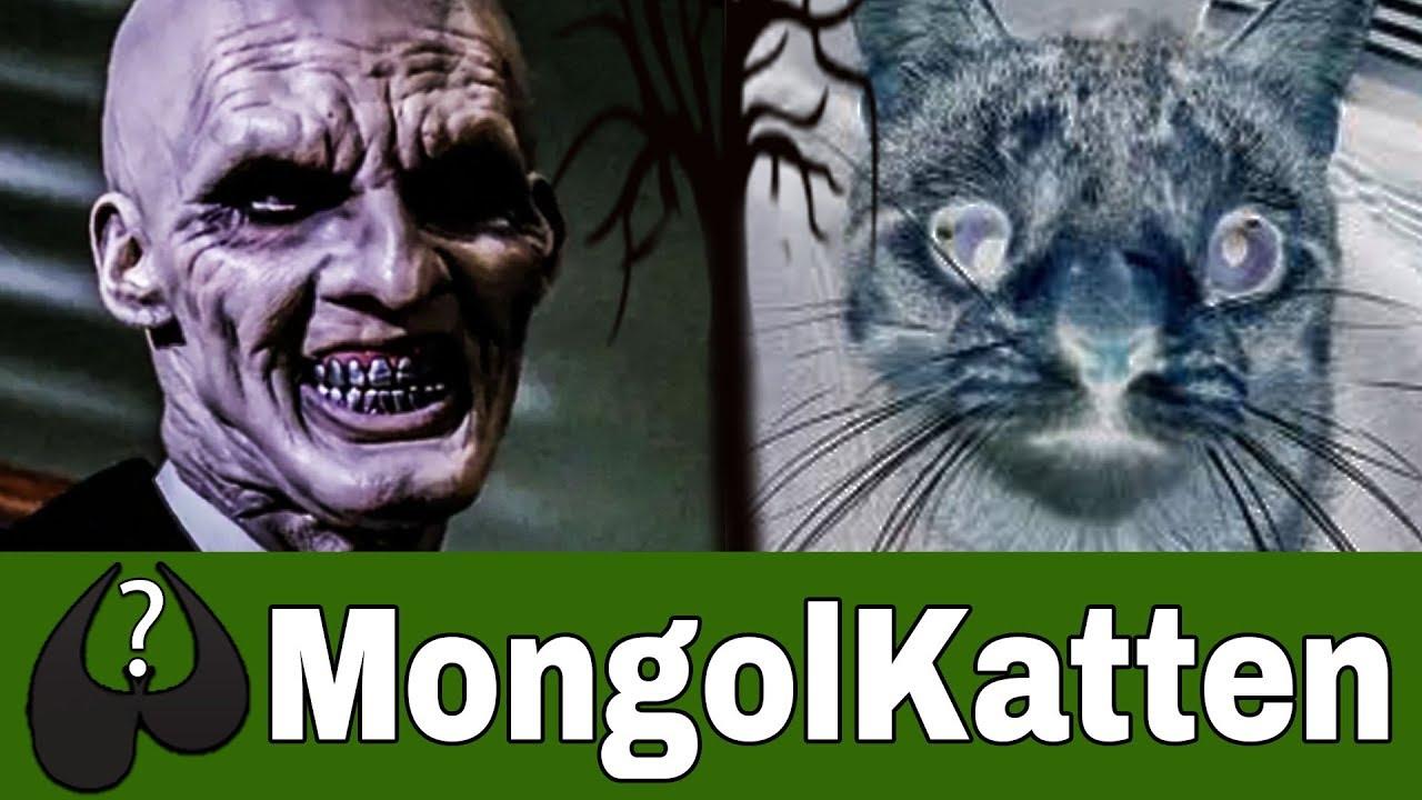 Uhyggelige Historier Den Uhyggelige Mongolkat Baseret På
