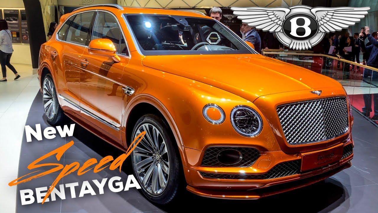 bentley bentayga speed  review  fastest suv   cullinan interior exterior