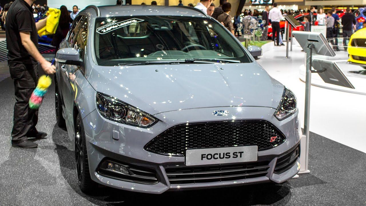 new ford focus st station wagon geneva motor show 2015 hq youtube. Black Bedroom Furniture Sets. Home Design Ideas