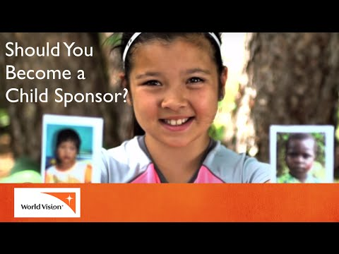 Why become a child sponsor? | World Vision