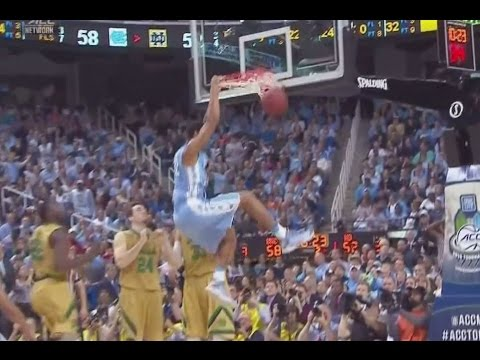 UNC Men's Basketball: Highlights vs. Notre Dame - ACCT Final