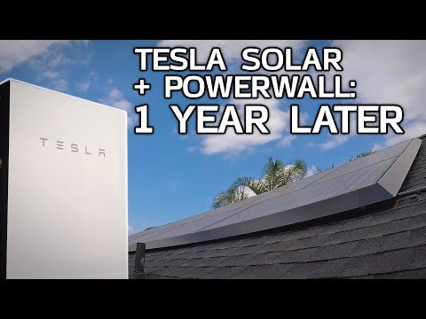 tesla-solar-and-powerwall:-1-year-later!