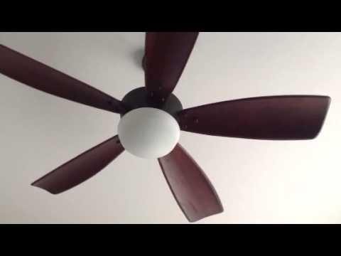 Ceiling Fans At My Dad S Friend S New House 1 Youtube