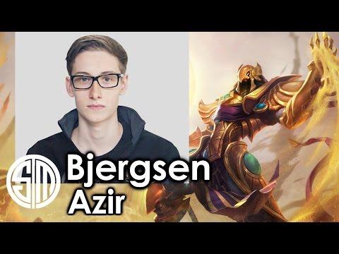 Bjergsen picks Azir