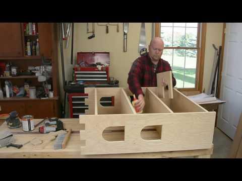 Kids Castle Bookshelf - Woodworkers Fighting Cancer 2016