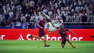 BICYCLE KICK GOAL COMPILATION -FIFA 19- [THE CHAMPIONS]