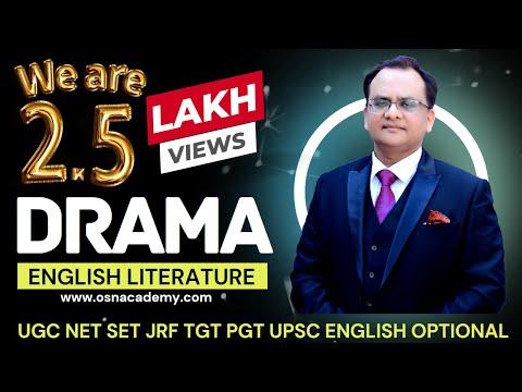 Unit-1 DRAMA - UGC NET COACHING - OSN ACADEMY...Call 9935058417