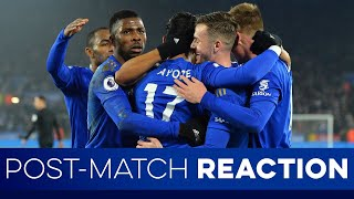 Post-Match Reaction: Brentford 0 Leicester City 1