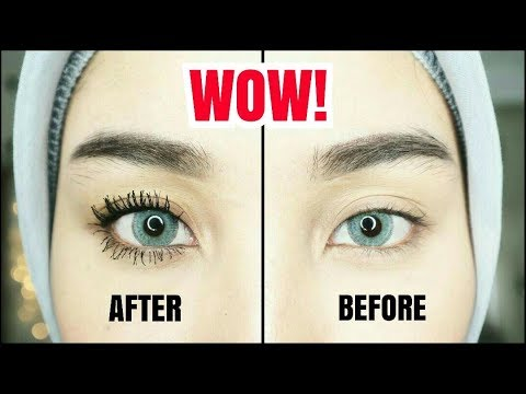 BULUMATA LEBAT DAN PANJANG DENGAN MASCARA | HOW TO MAKE YOUR EYELASHES LONGER + VOLUMINOUS