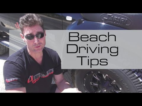 How to drive on the beach, sand and dunes - tips for beginners