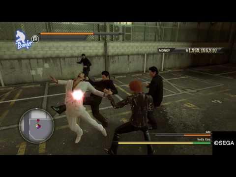 YAKUZA 0 Media King Boss Battle