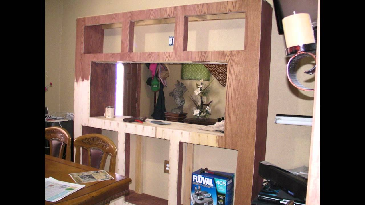 Fish tank tv stand - 110 Gallon Freshwater Fishtank Stand Build
