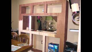 110 Gallon Freshwater Fishtank Stand Build