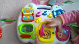 Обзор музыкальной игрушки Расти малыш