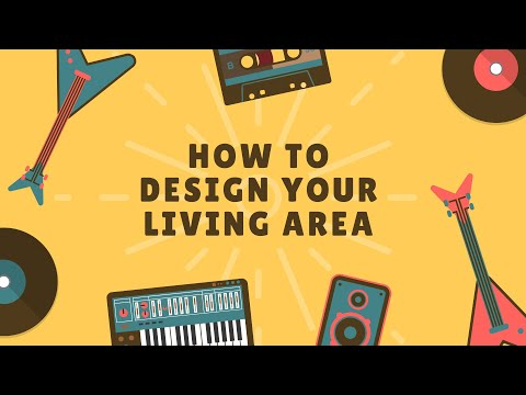 HOW TO DESIGN YOUR LIVING AREA| Ft. Yasir Hussain
