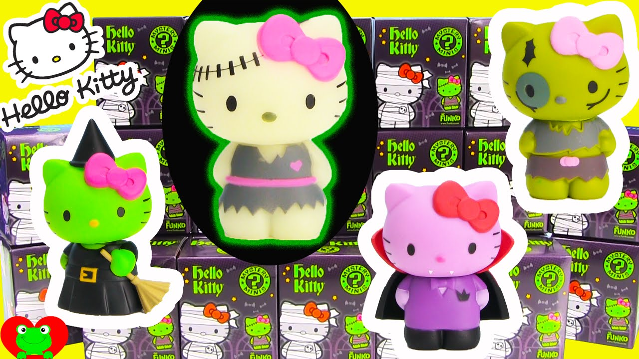 f8eb9d676 Hello Kitty Halloween Mystery Minis by Funko - YouTube