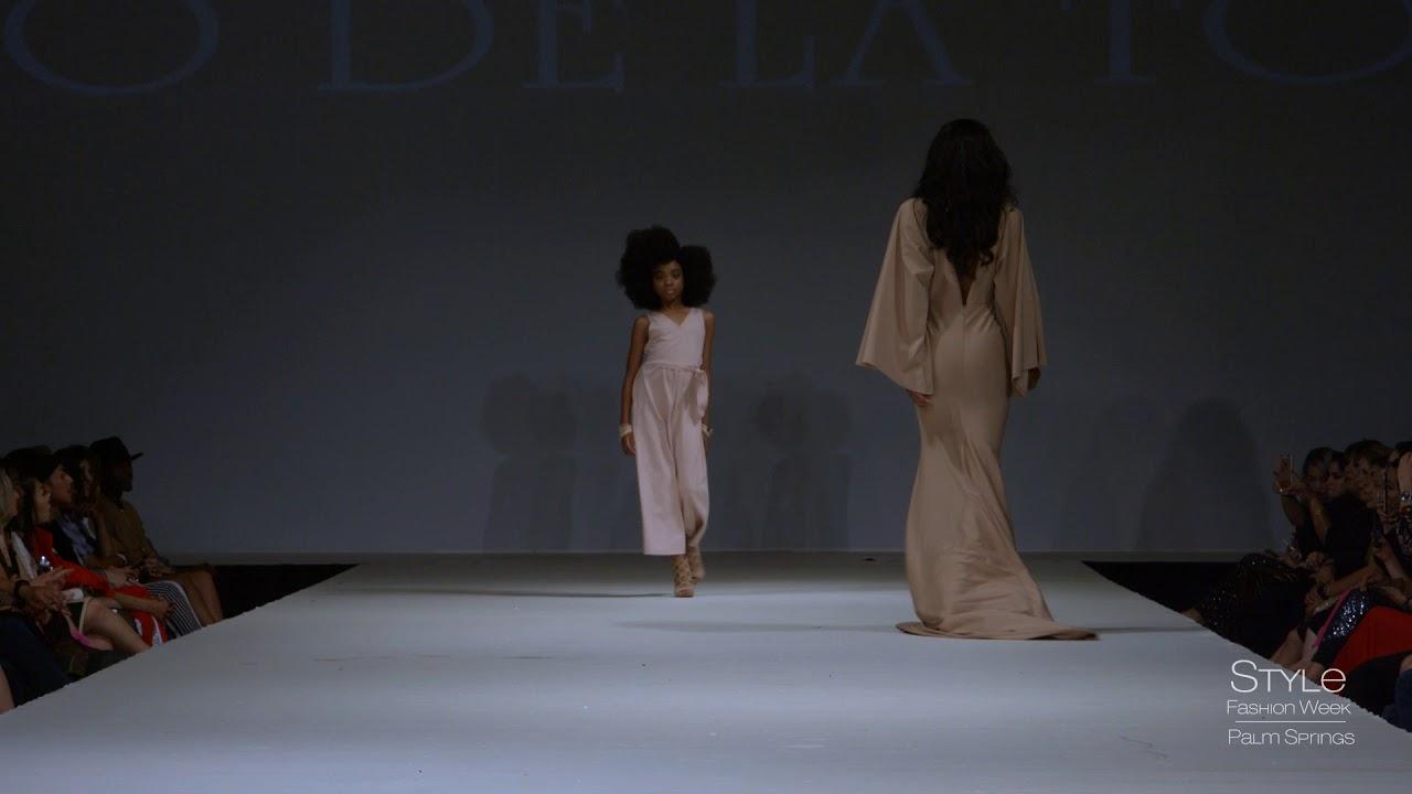 Celai West Runway Reel Mario De La Torre Fw18 Style Fashion Week Palm Springs Youtube