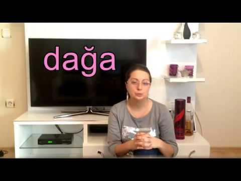 Турецкий для начинающих видео уроки с алисой хакимовой