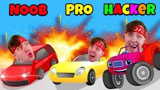 Kan Jag Gå NOOB Vs PRO Vs HACKER I (crash Master 3D)???