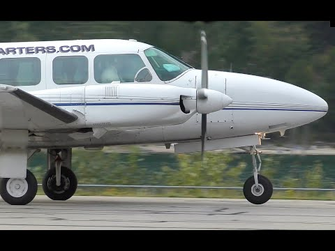 Piper PA-31-350 Chieftain Takeoff