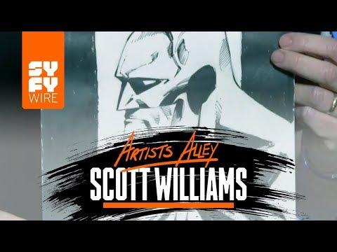 Watch Batman - Hush Artist Scott Williams Ink Batman | SYFY WIRE