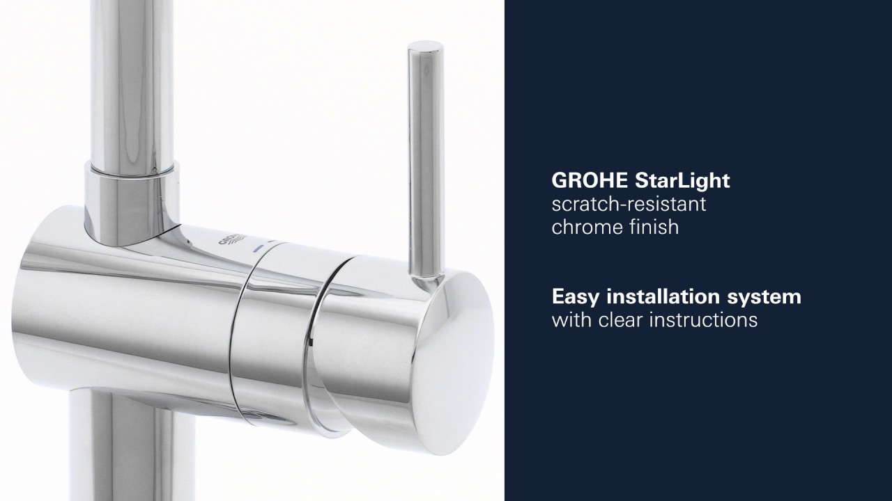 GROHE | Minta Kitchen Faucet | Product Video - YouTube