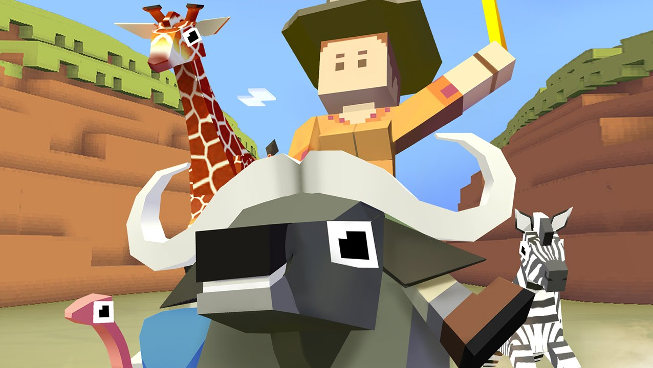 Animal Wrangling Rodeo Stampede Youtube