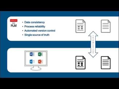 Oracle Agile PLM  - Microsoft Office Integration