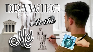 Drawing at the MET