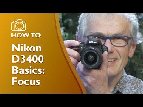 Nikon D3400 Focus Settings Demonstrated