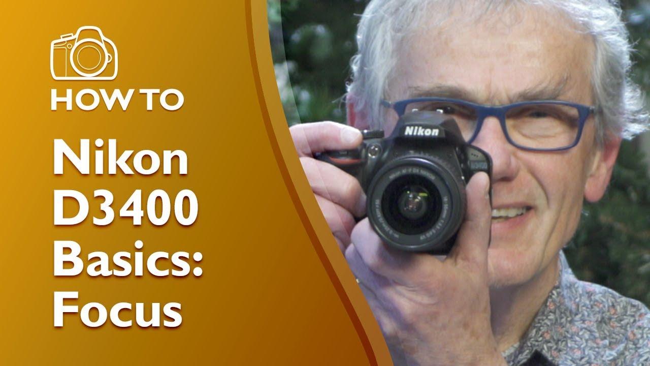 Nikon D3400 Focus Settings Demonstrated Youtube Lock Ampamp Ordinary Crisper Hpl932d700ml