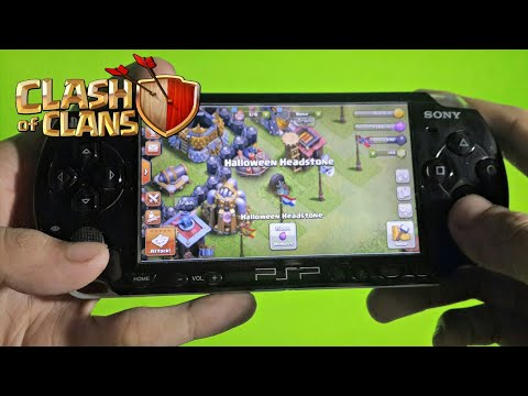 Clash Of Clans PSP Gameplay (HD)