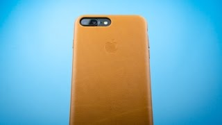 Apple Leather Case for iPhone 8 Plus/7 Plus - Review - Best leather case so far!