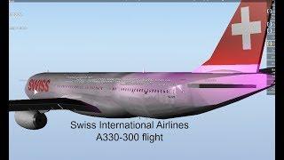 [ROBLOX] Vol A330-300 de Swiss International Airlines