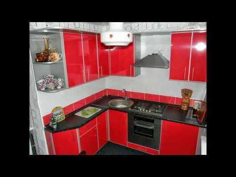 Красные кухни фото дизайн