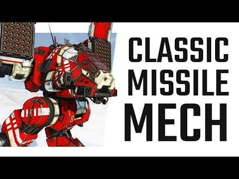 Classic LRM Catapult C1 Build - Mechwarrior Online The Daily Dose 1443