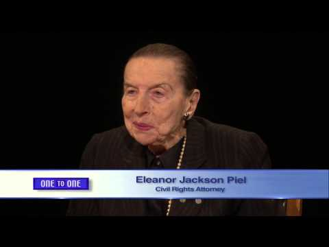 One to One:   Eleanor Jackson Piel, Civil Rights Attorney