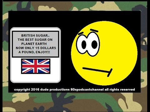 BRITISH SODA SUGAR TAX