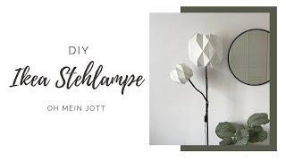DIY Upcycling der Stehlampe