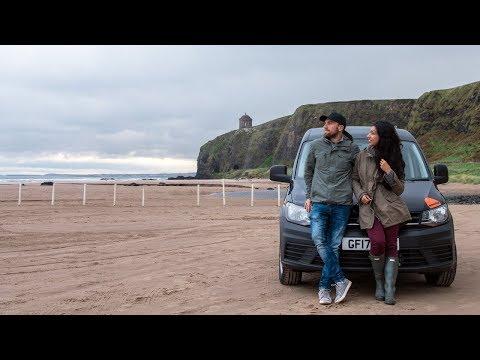 CAMPER VAN ROAD TRIP TO NORTHERN IRELAND