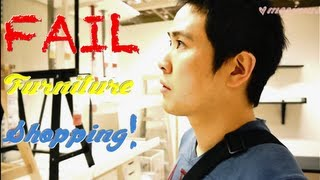 Meejmuse Vlog♥5: Fail Furniture Shopping