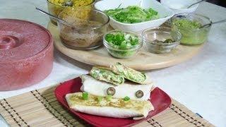 7 Layer Burrito Recipe Video - Mexican cuisine by Bhavna