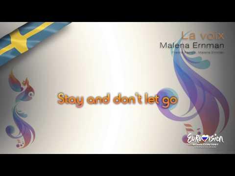"Malena Ernman - ""La Voix"" (Sweden) - [Karaoke version]"