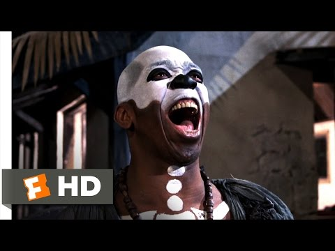 and Let Die 810 Movie CLIP  Baron Samedi, Voodoo Priest 1973 HD