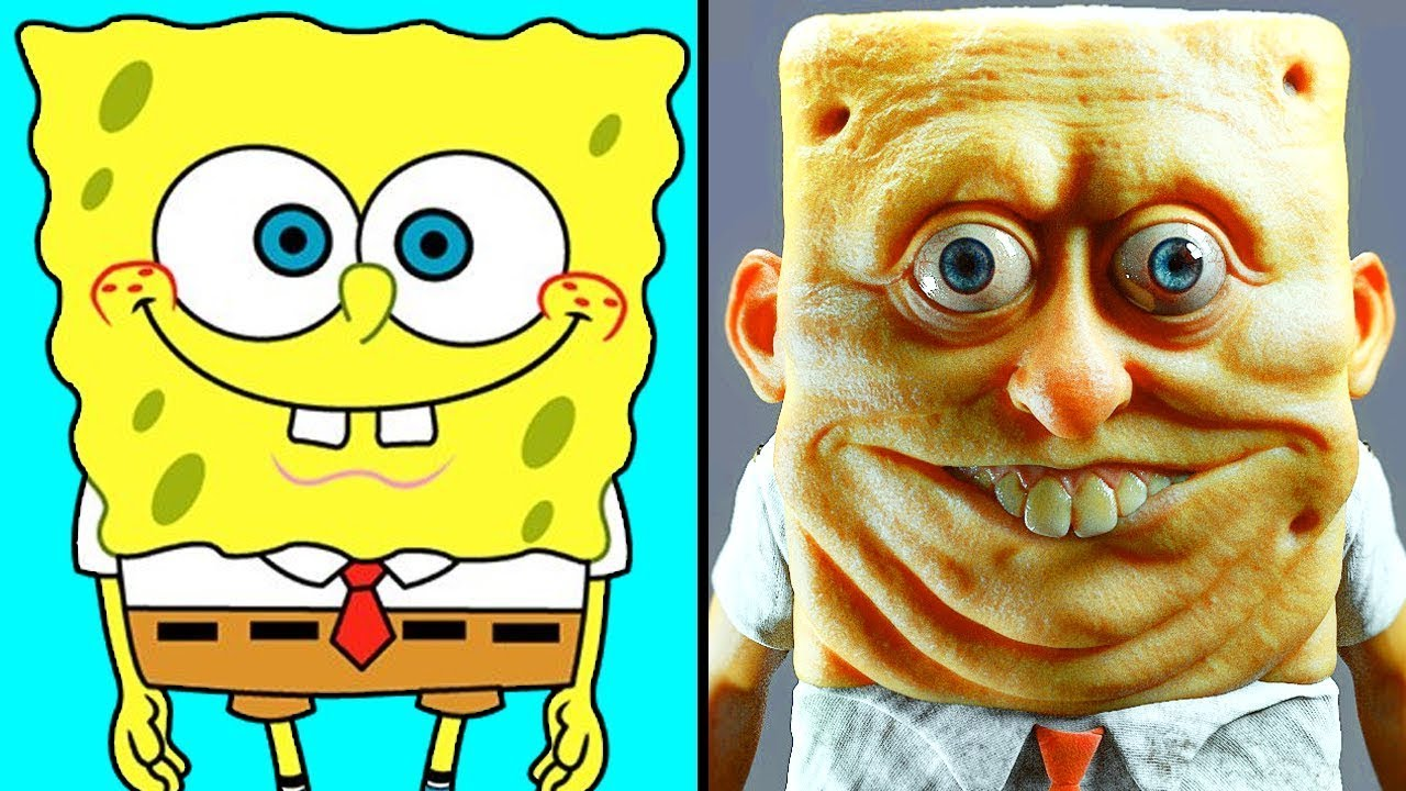 Download Cartoon Characters in Real Life