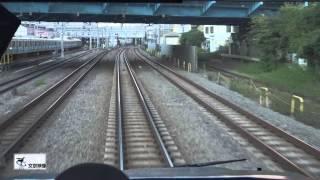 【前面車窓】JR特急スーパービュー踊り子8号東京行き (横浜~品川))4K動画映像 《文京映像制作》